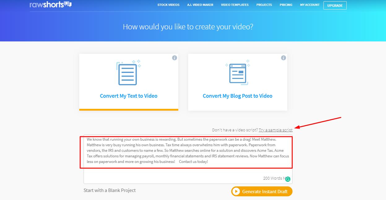 AI Videomaker - Convert My Text to Video – Support Desk